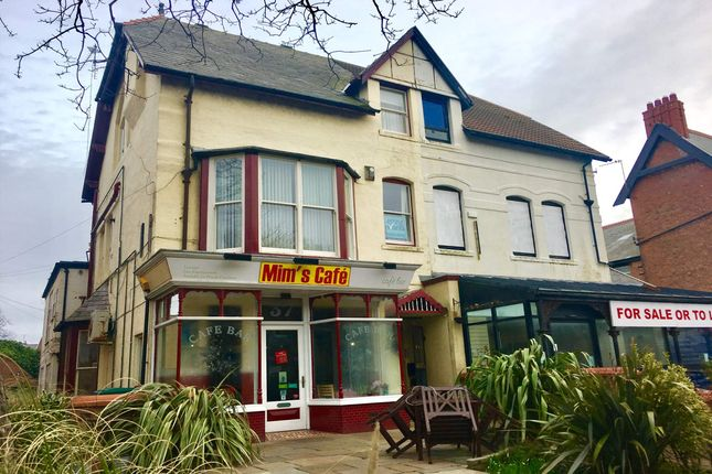 Thumbnail Commercial property for sale in 37 Wood Street, Lytham St Annes