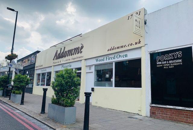 Thumbnail Restaurant/cafe for sale in Sternhold Avenue, London