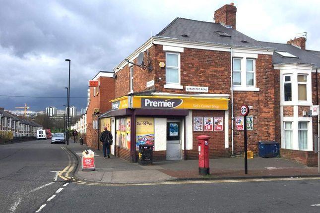Thumbnail Retail premises for sale in Newcastle Upon Tyne NE6, UK