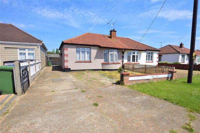 Thumbnail Semi-detached bungalow for sale in Giffords Cross Avenue, Corringham, Essex