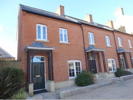 Thumbnail End terrace house to rent in Billingsmoor Lane, Poundbury, Dorchester