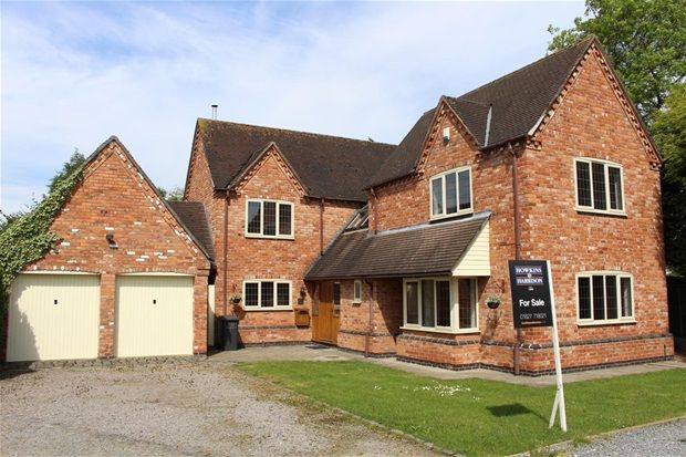 Thumbnail Detached house for sale in Main Street, Congerstone, Nuneaton