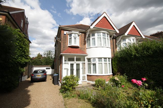 Thumbnail Semi-detached house to rent in Grange Park Avenue, Grange Park