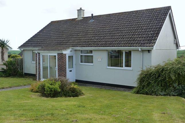 Thumbnail Detached bungalow for sale in Richmond Road, Pelynt, Looe
