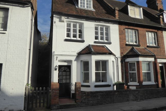 Thumbnail End terrace house to rent in Queen Street, Henley On Thames