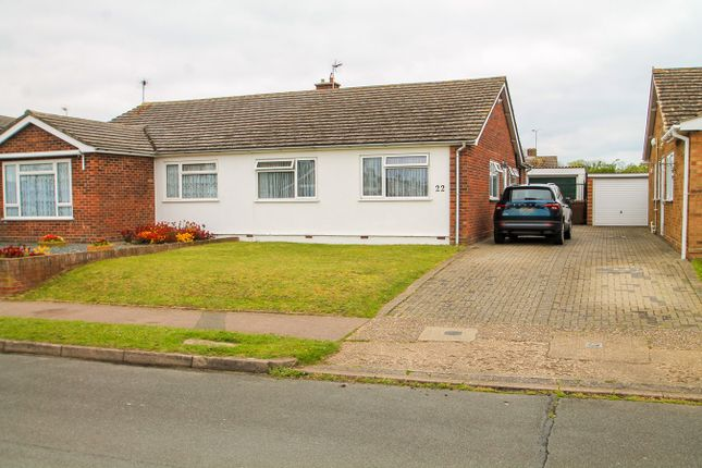 3 bed semi-detached bungalow for sale in Hornbeam Road, Stowupland, Stowmarket IP14