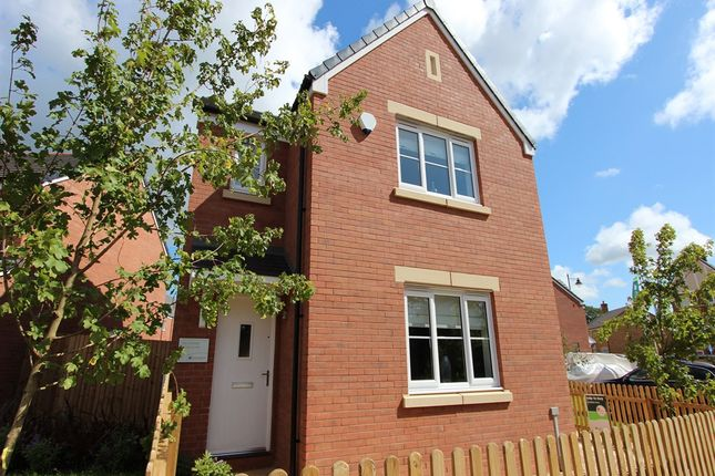 "Thumbnail Detached house for sale in ""The Hatfield "" at Bawler Road, Monkton Heathfield, Taunton"