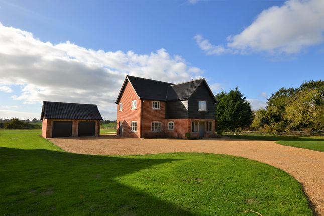 Thumbnail Detached house for sale in Wheelers Lane, Seething, Norwich
