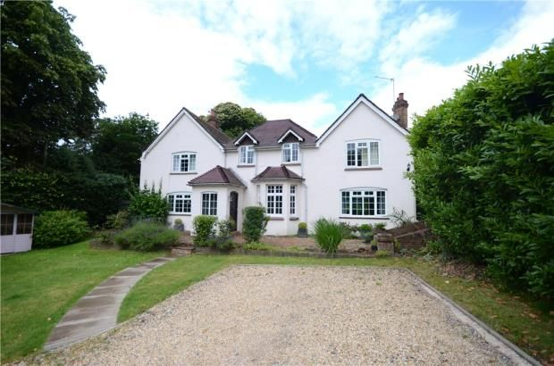 Thumbnail Detached house for sale in Upper Chobham Road, Camberley, Surrey