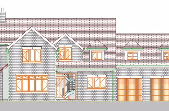 Thumbnail Detached house for sale in Plot 3, Pool Hill Road, Horsehay