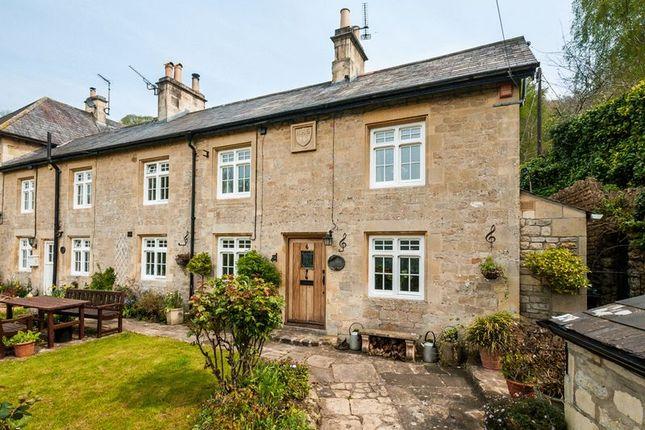 Thumbnail Terraced house for sale in Warleigh Lane, Warleigh, Bath