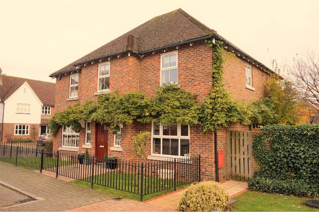 Thumbnail Detached house for sale in Townsend Square, West Malling