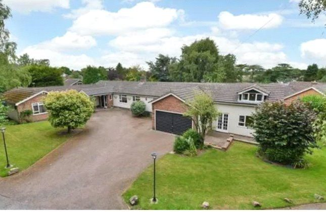 Thumbnail Bungalow for sale in Hall Drive, Burton-On-The-Wolds, Loughborough