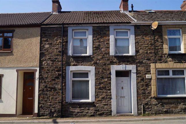 Thumbnail Terraced house for sale in Rheola Street, Penrhiwceiber, Mountain Ash