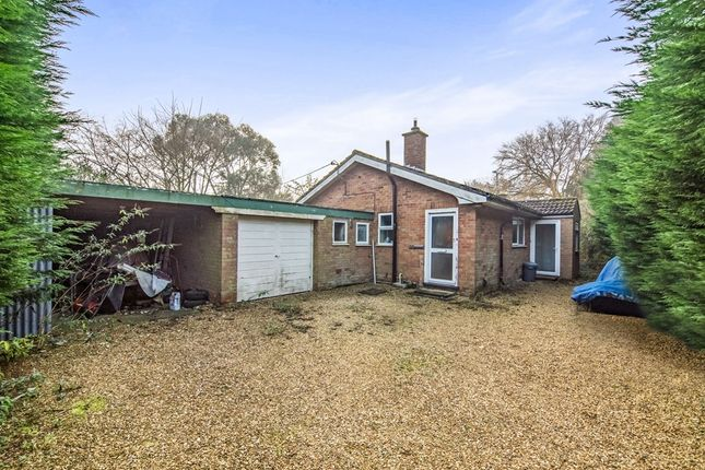 Thumbnail Detached bungalow for sale in Main Road, Holme Next The Sea, Hunstanton