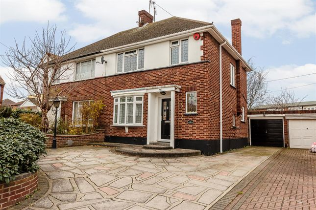 Thumbnail Semi-detached house for sale in Oakwood Close, Benfleet