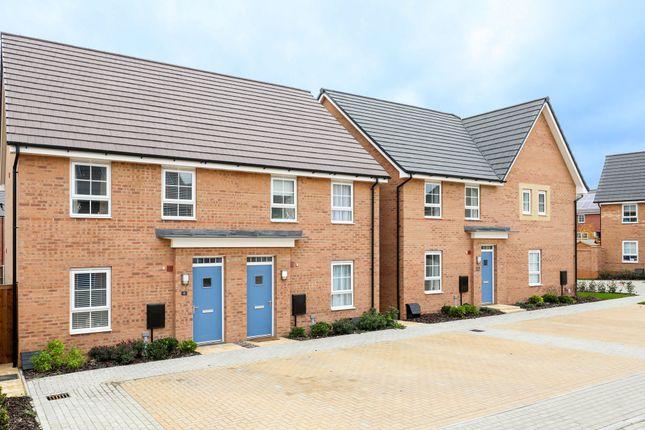 "Thumbnail End terrace house for sale in ""Finchley"" at Carters Lane, Kiln Farm, Milton Keynes"