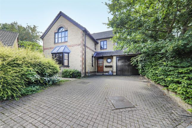 Thumbnail Detached house for sale in Foxglove Close, Winkfield Row, Bracknell, Berkshire