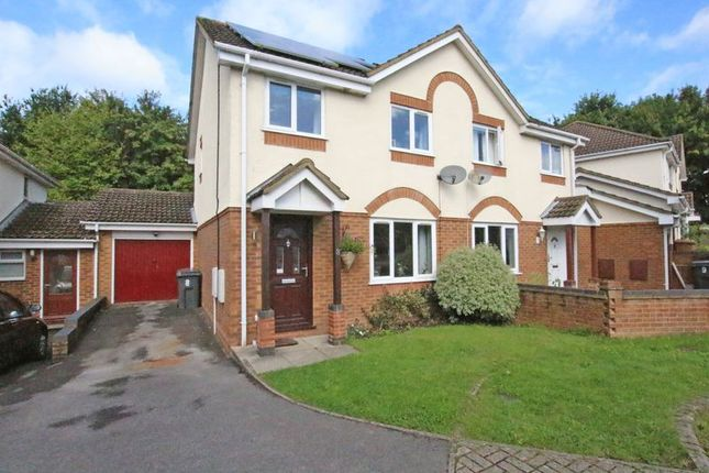 Thumbnail Semi-detached house for sale in Armada Close, Rownhams, Southampton