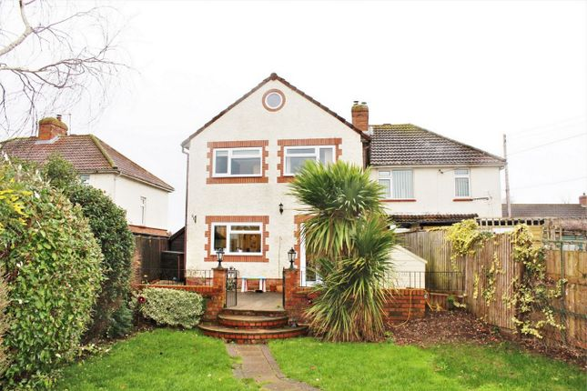 Thumbnail Semi-detached house to rent in Main Road, East Lyng, Taunton