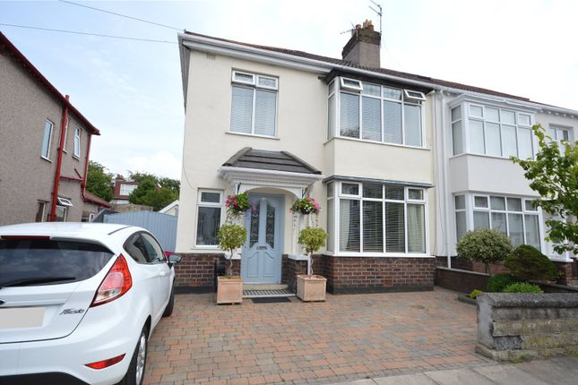 Thumbnail Semi-detached house for sale in Towers Road, Childwall, Liverpool