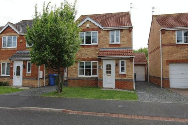 Thumbnail Detached house to rent in Millcroft Court, Blyth