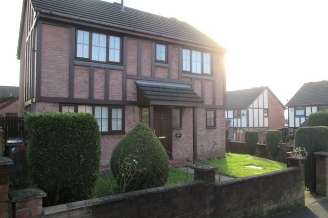 Thumbnail Detached house to rent in Copplestone Grove, Meir Hay, Longton, Stoke On Trent