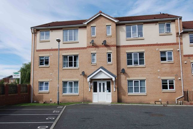 Thumbnail Flat to rent in Rosebud Close, Swalwell, Newcastle Upon Tyne