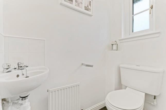 Cloakroom of Rosin Court, Kirkcaldy, Fife KY1