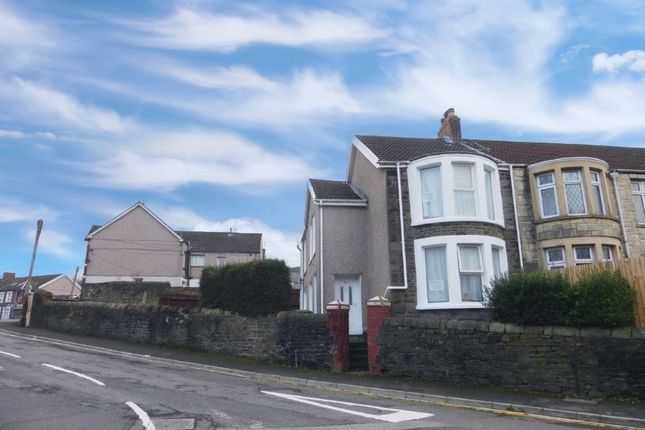 Thumbnail End terrace house for sale in Wood Road, Treforest, Pontypridd