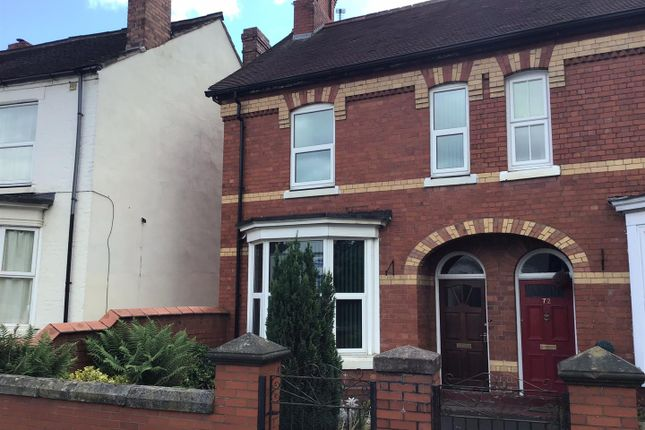 Thumbnail Semi-detached house to rent in King Street, Wellington, Telford