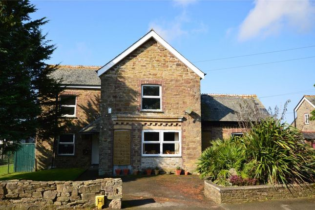 Thumbnail Detached house for sale in Playing Field Terrace, Duloe, Liskeard, Cornwall