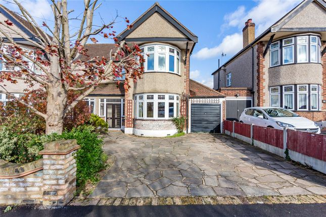 Thumbnail Semi-detached house for sale in Southview Drive, Upminster