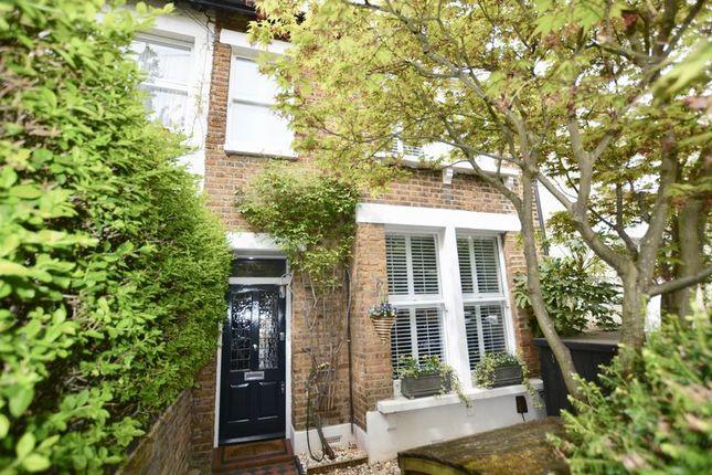 Thumbnail Terraced house for sale in Wick Road, Teddington