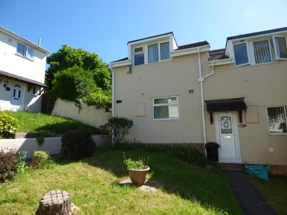 Thumbnail End terrace house for sale in Holly Park, Plymouth, Devon