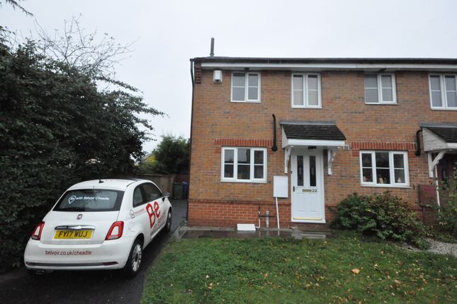 Thumbnail Semi-detached house to rent in Pintail Avenue, Cheadle Heath