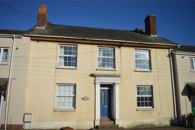 Thumbnail Terraced house for sale in Mill Street, Crediton, Devon