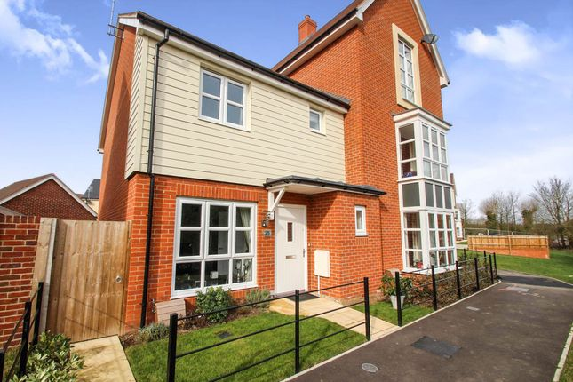 Thumbnail Semi-detached house for sale in Provis Wharf, Canalside, Aylesbury