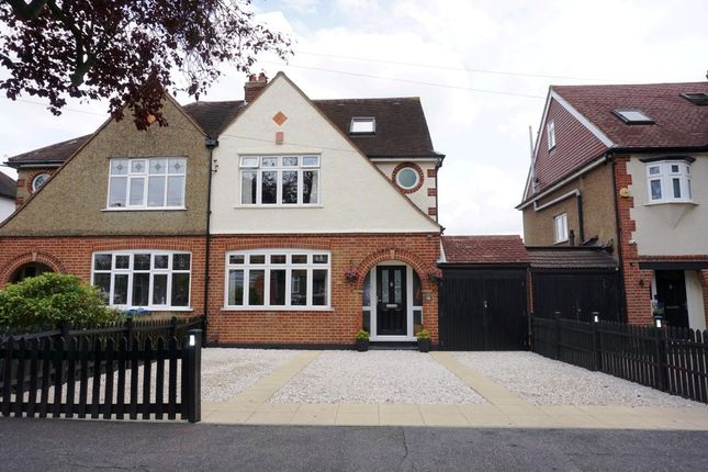 Thumbnail Semi-detached house for sale in Somerset Avenue, Hook