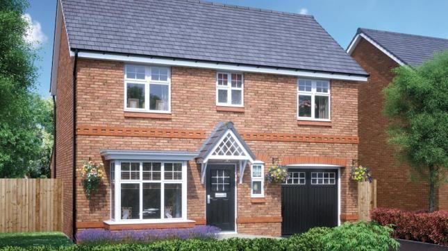 Thumbnail Detached house for sale in Wren Green, Bamber Bridge, Preston