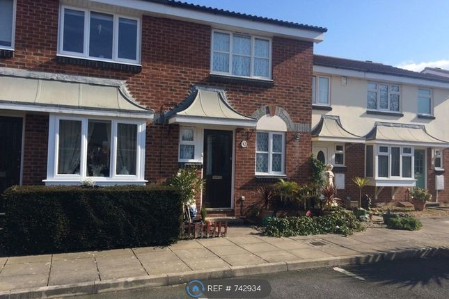 Thumbnail Terraced house to rent in Riverhead Close, Southsea