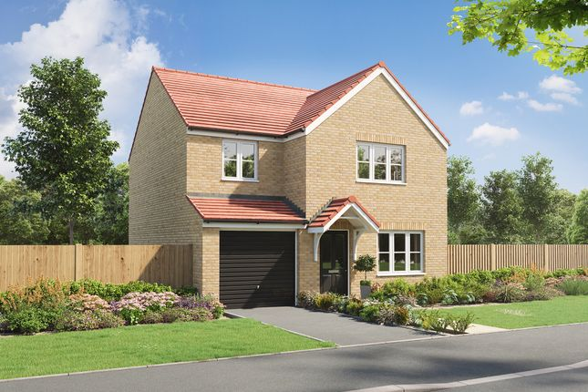 """4 bed detached house for sale in """"The Gisburn"""" at Woodhorn Meadows, Summerhouse Lane, Northumberland NE63"""