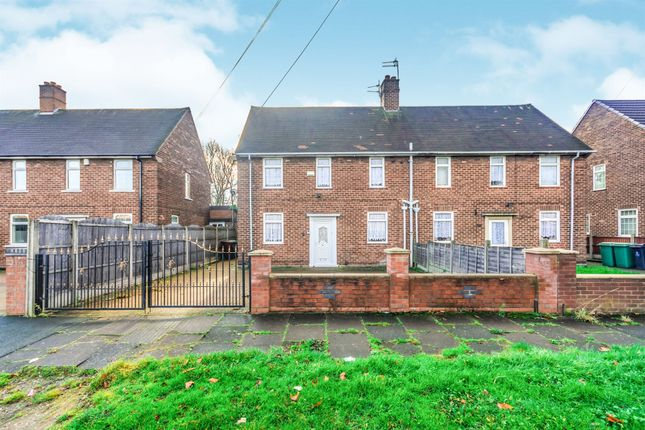 Thumbnail Semi-detached house for sale in Wilkes Avenue, Walsall