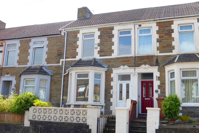 Thumbnail Terraced house for sale in Van Road, Caerphilly