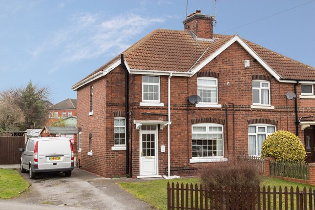 Thumbnail Semi-detached house for sale in Sycamore Road, New Ollerton