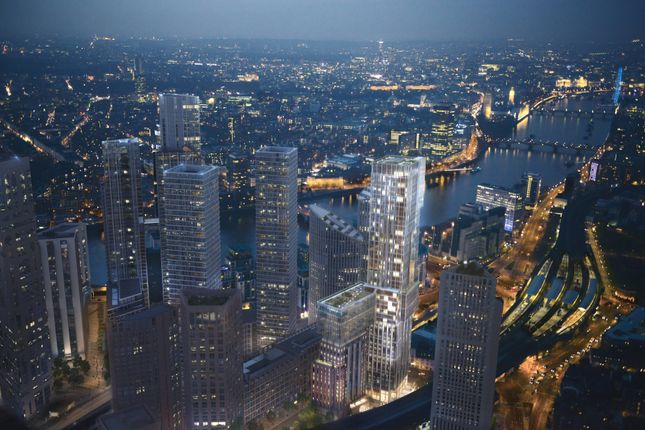 Thumbnail Flat for sale in Nine Elms, Battersea