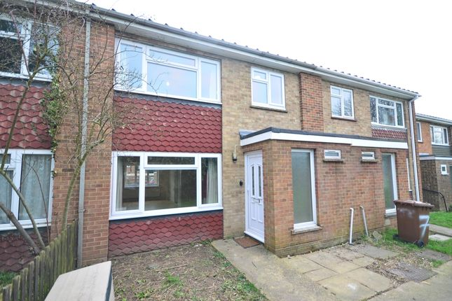 Thumbnail Terraced house to rent in Gardenia Close, Strood, Rochester
