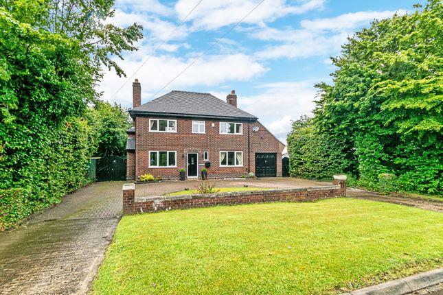 Thumbnail Detached house for sale in Fir Tree Close, Stretton, Warrington