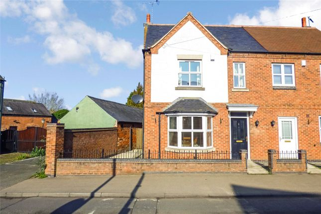 Thumbnail Semi-detached house for sale in Leicester Road, Sapcote, Leicester, Leicestershire