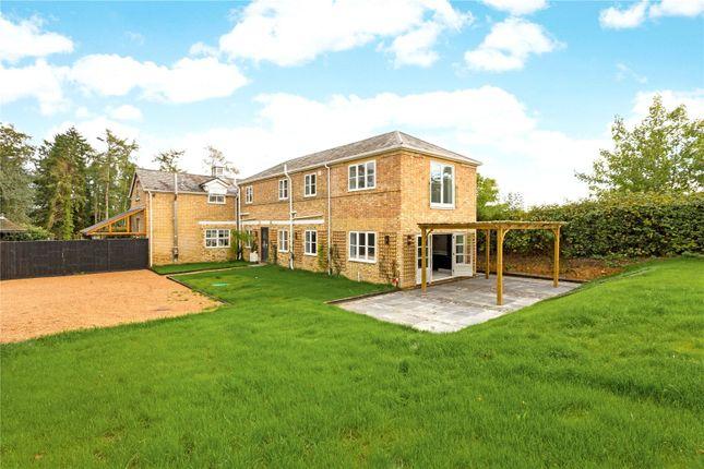 Thumbnail Semi-detached house for sale in Broomsleigh Park, Seal Chart, Sevenoaks, Kent